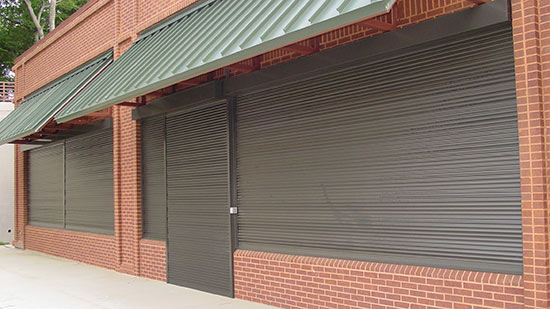 Retail Rolling Security Shutter