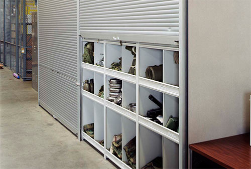 Military Storage Rolling Security shutter