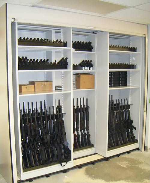 Weapons Storage Rolling Security Door