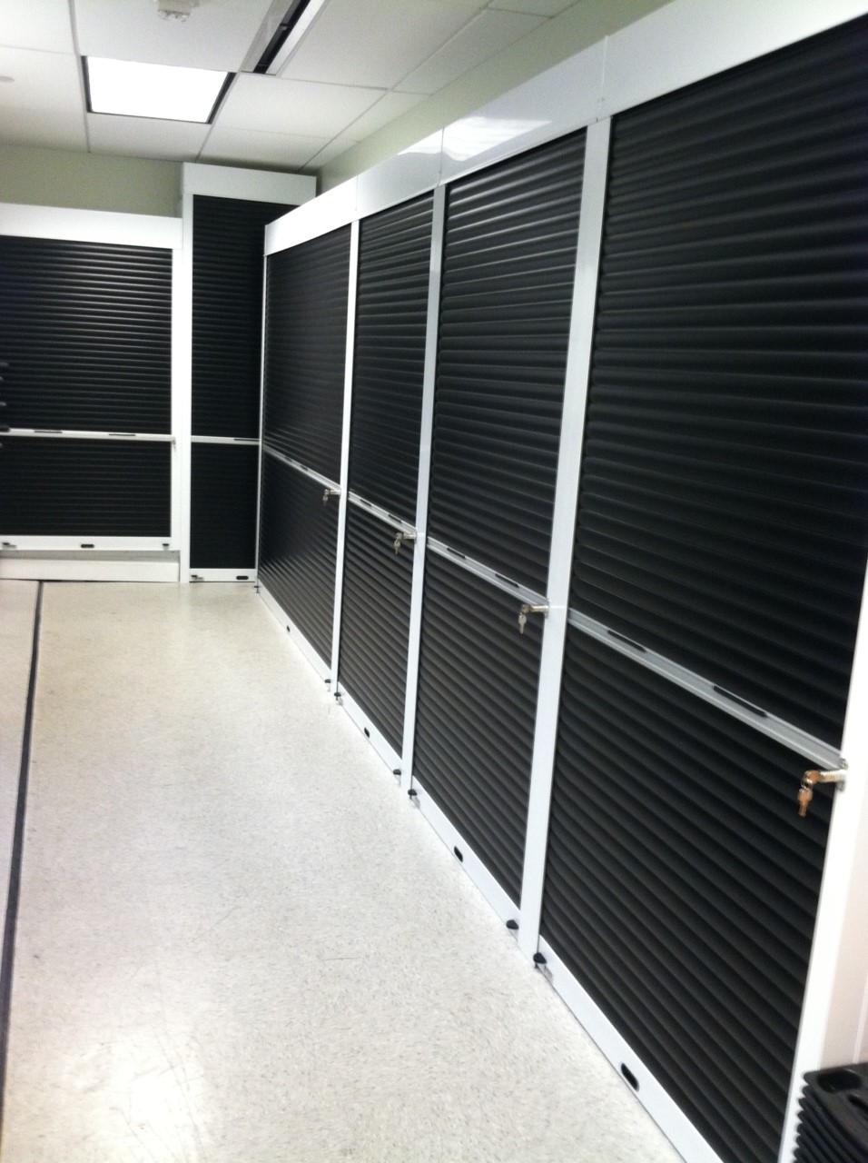 Rolling Security Shutters and Security Doors on Shelving
