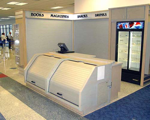 RMU/Fixtures Rolling security doors and security shutters