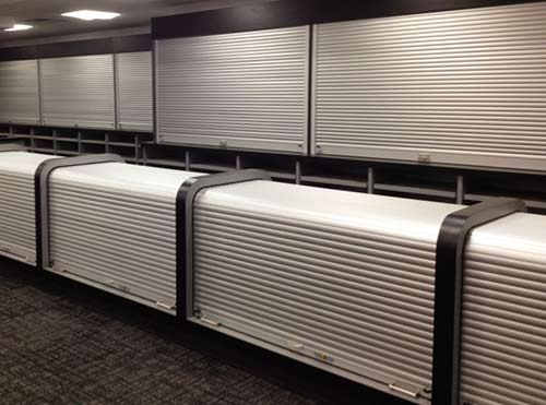 retail fixture security shutters