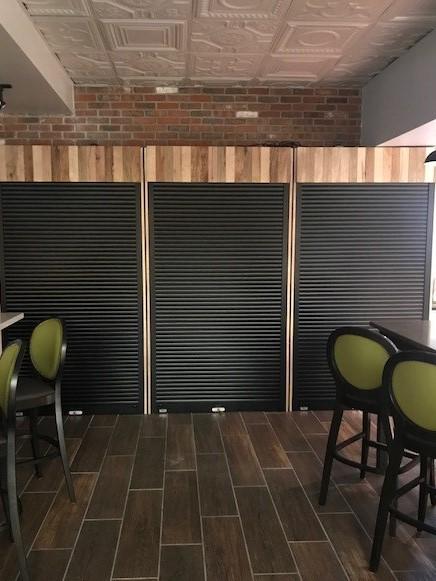 tambour doors