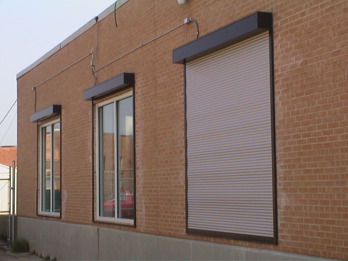 Retail Storefront Rolling Security Shutter