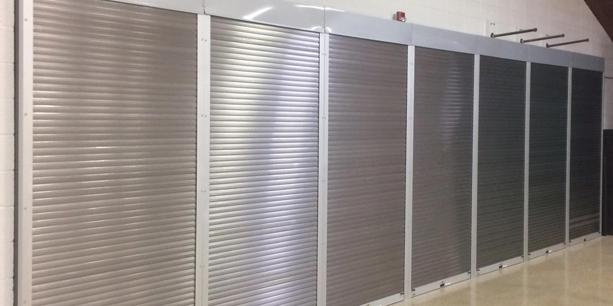 Security Shutter - Stainless
